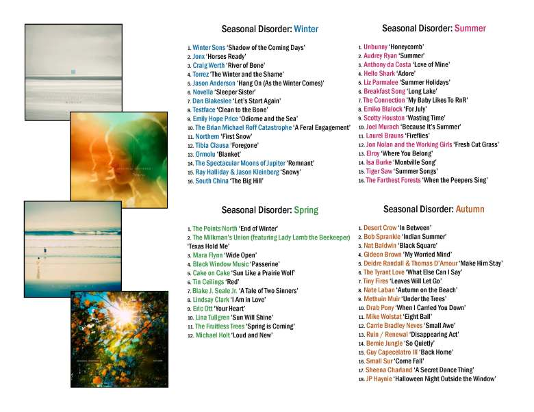 Seasonal Disorder poster