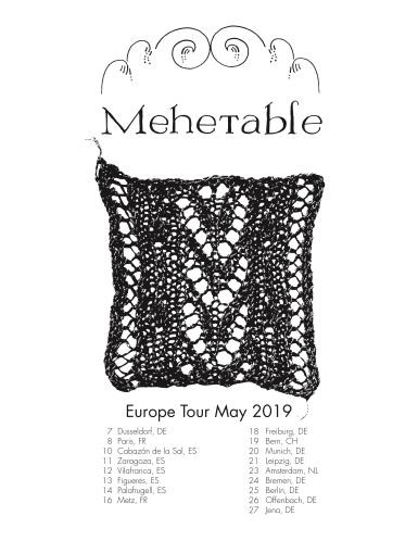 mehetable tour poster 5.2.19